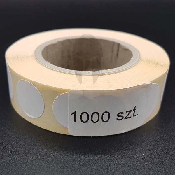 zaklejki białe molon labe 16mm