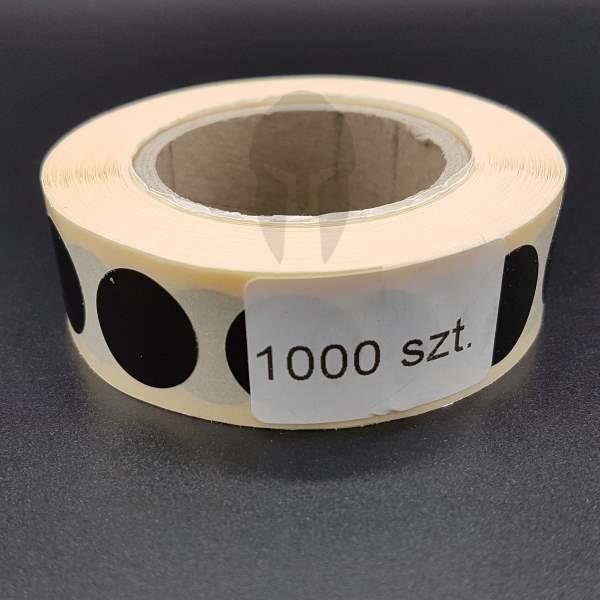 zaklejki czarne molon labe 16mm