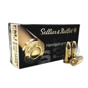 amunicja sellier bellot 9 mm luger para 9x19