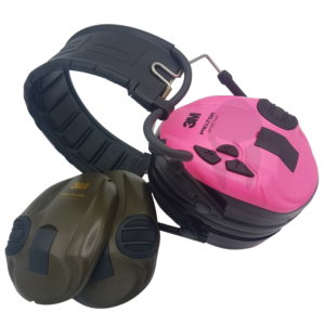 peltor sporttac pink różowe zielone