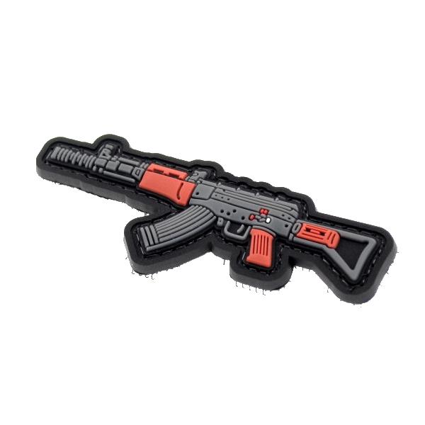 AK naszywka PVC 3D morale patch