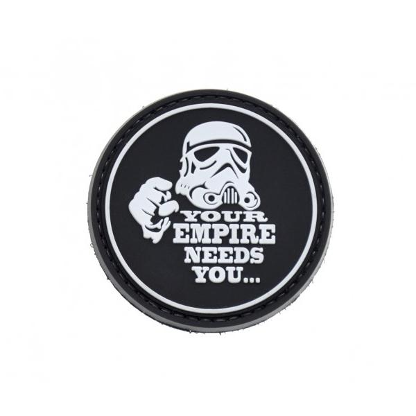 EMPIRE NEEDS YOU naszywka PVC 3D morale patch