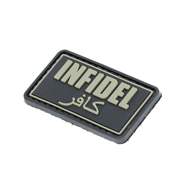 INFIDEL naszywka PVC 3D morale patch