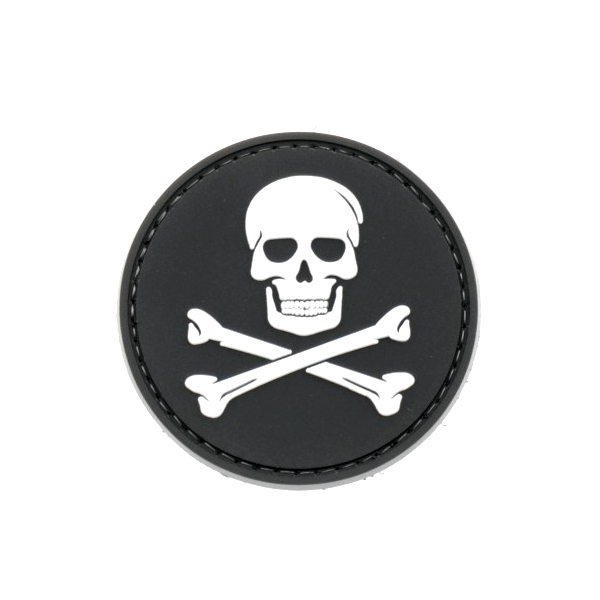 JOLLY ROGER naszywka PVC 3D morale patch