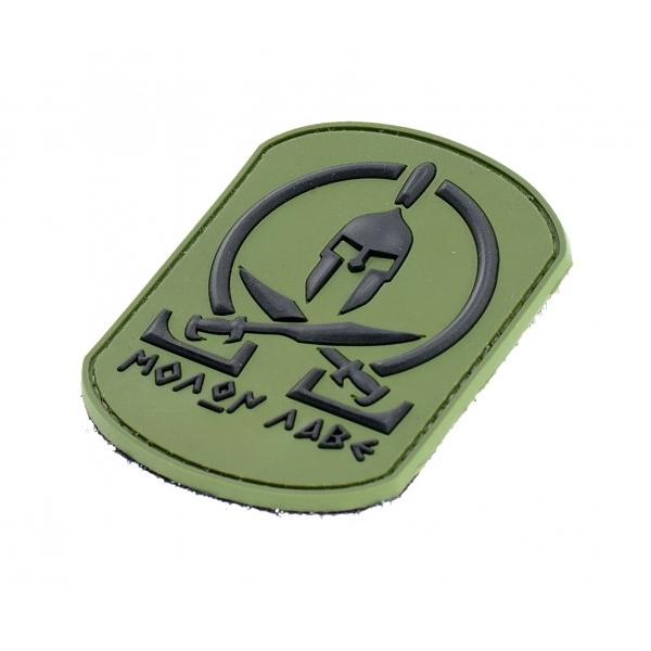 MOLON LABE naszywka tarcza PVC 3D morale patch