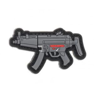 MP5 naszywka PVC 3D morale patch