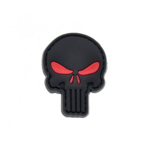 PUNISHER naszywka PVC 3D morale patch