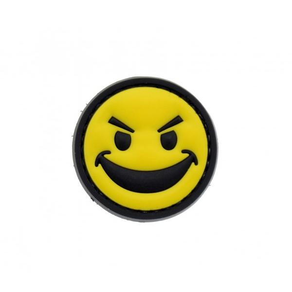 SMILEY naszywka PVC 3D morale patch