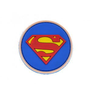 SUPERMAN naszywka PVC 3D morale patch